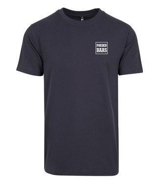 Wit Logo T-Shirt Navy