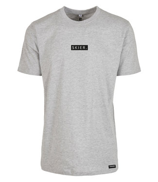 SKIER. T-Shirt Gray