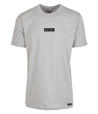 SKIFAHRER. T-Shirt grau