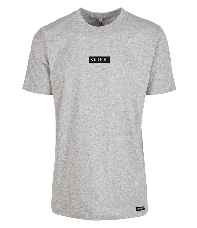 SKIER. T-Shirt Grijs