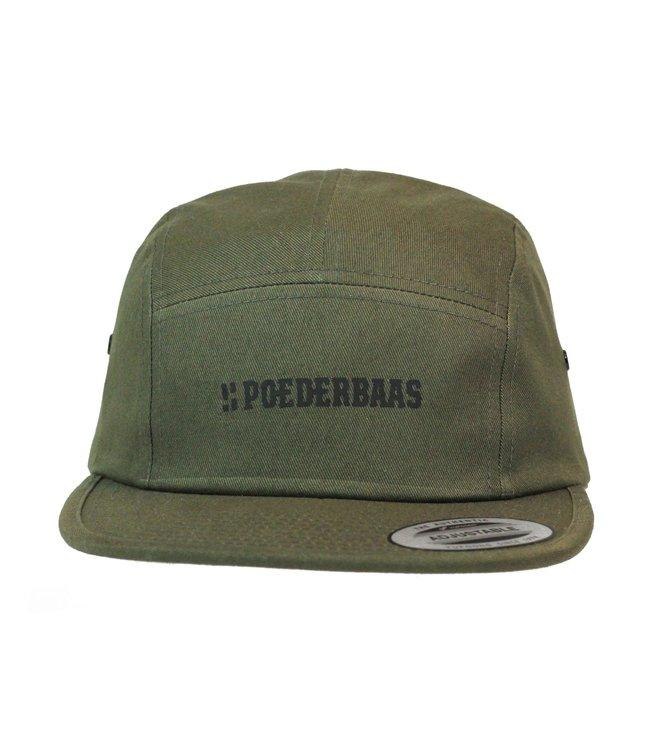 Classic jockey cap - green
