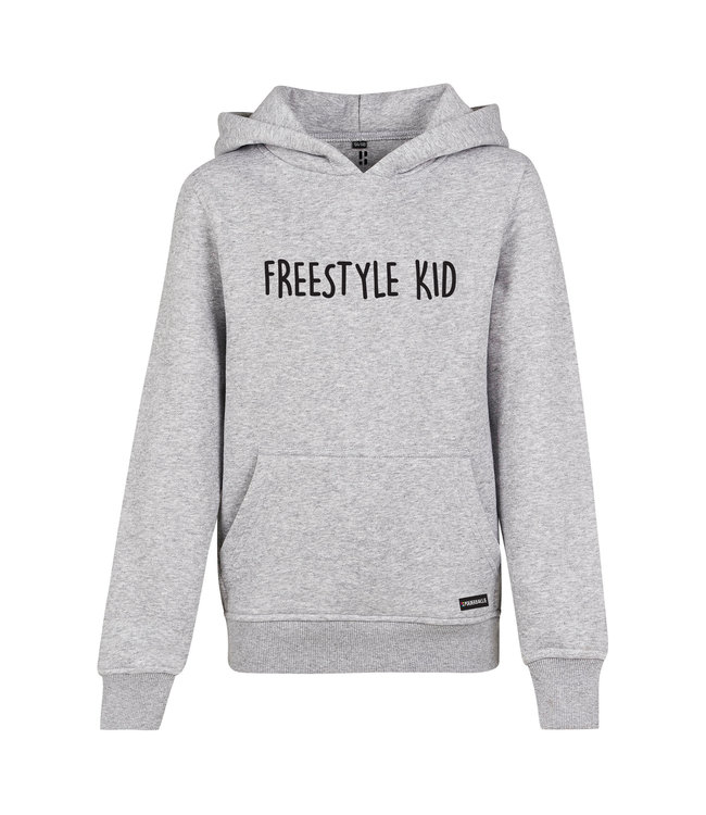 Freestyle hoodie for kids from Poederbaas