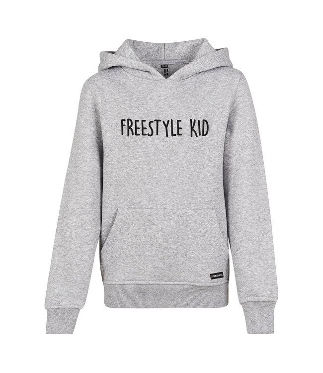 Freestyle hoodie voor kids van Poederbaas