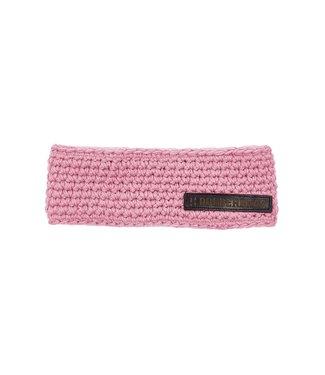 Stirnband mit Fleece - pink