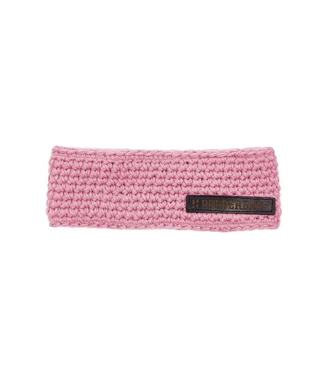 Headband with fleece - pink