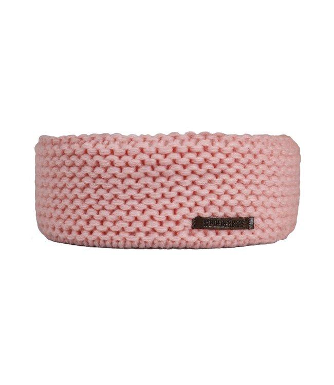 Roze hoofdband van Poederbaas