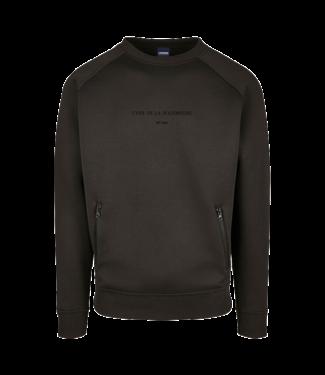 Premium 'Chef de la Poudreuse' sweater zwart