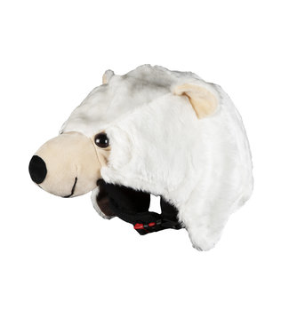 Knoet the Polar Bear - Helmet Cover