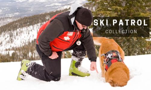 Ski patrol line