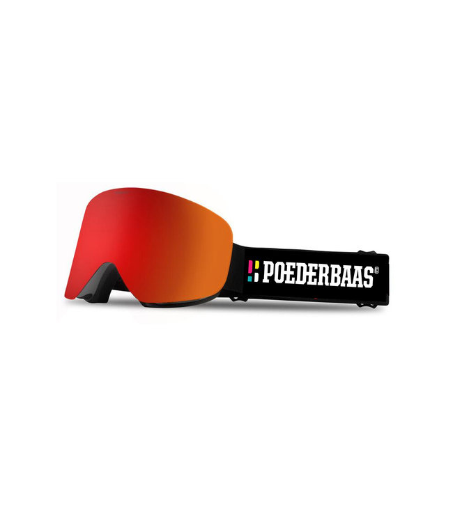 Freeride Goggle Red