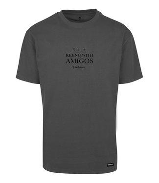 Riding with Amigo's T-shirt Black