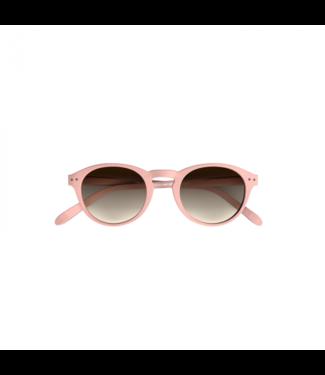 Rosa Sonnenbrille (rund)