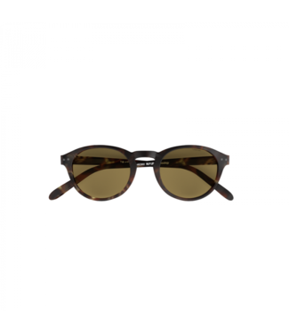 Brown Sunglasses (Round) – Poederbaas x Blueberry Collab
