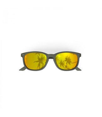 Gelbe Sonnenbrille