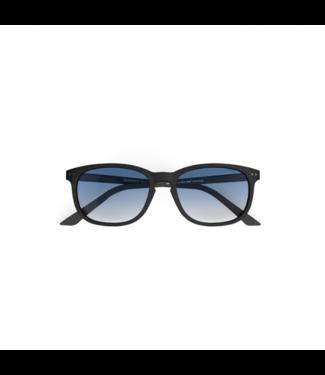Schwarz / Marineblau Sonnenbrille - Poederbaas x Blueberry Collab