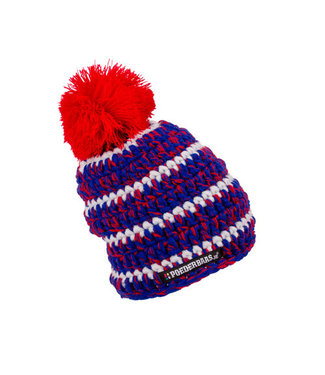 Baby hat - red / white / blue