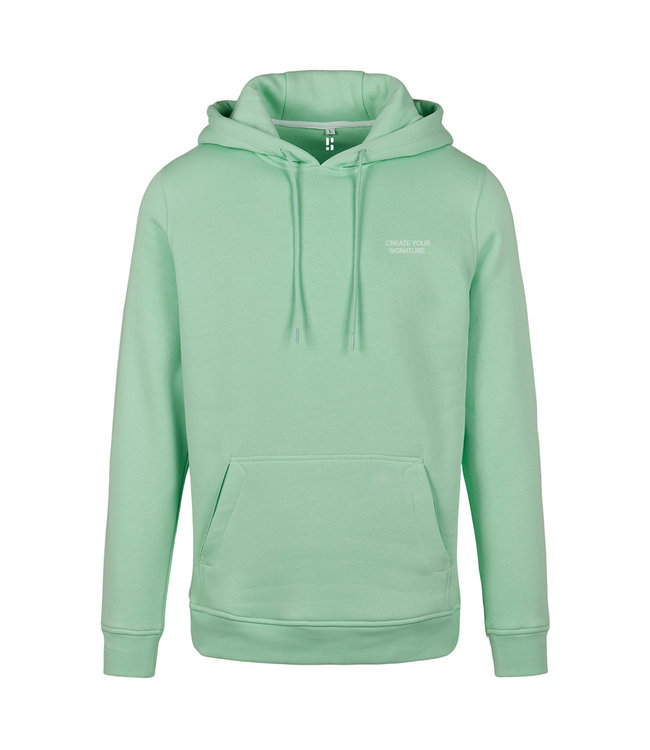 Create Your Signature Hoodie - Mint Green