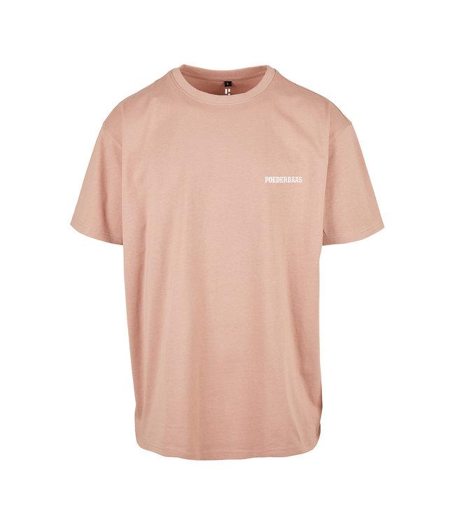 'Poederbaas' T-Shirt - Amber (Bestickt)