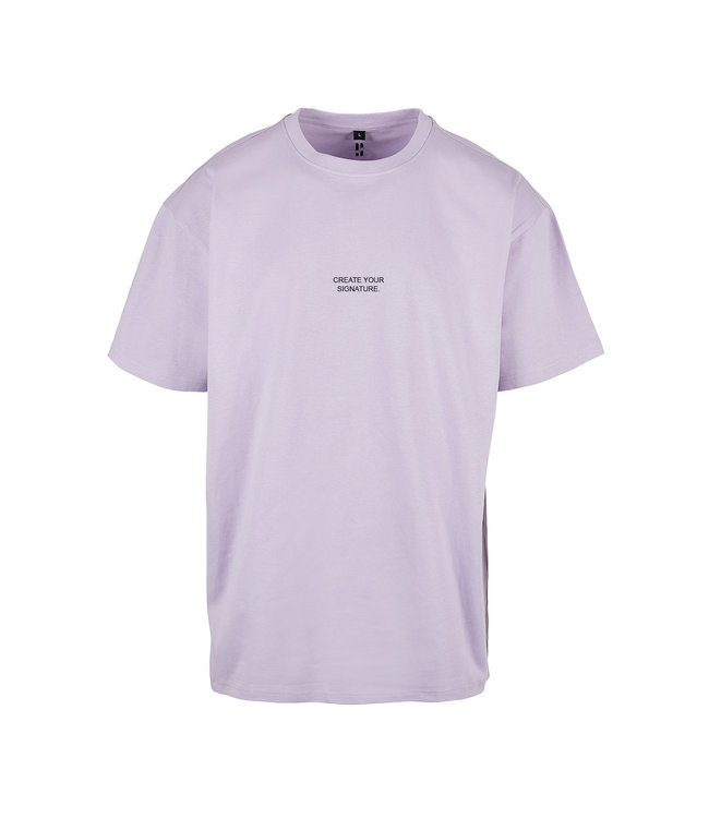Create Your Signature T-Shirt - Lilac Purple