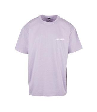 'Poederbaas T-Shirt - Lila Paars (Geborduurd)