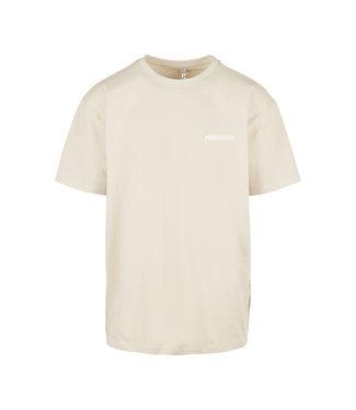 'Poederbaas' T-Shirt - Beige (Embroidered)