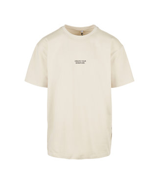 Create Your Signature T-Shirt - Beige