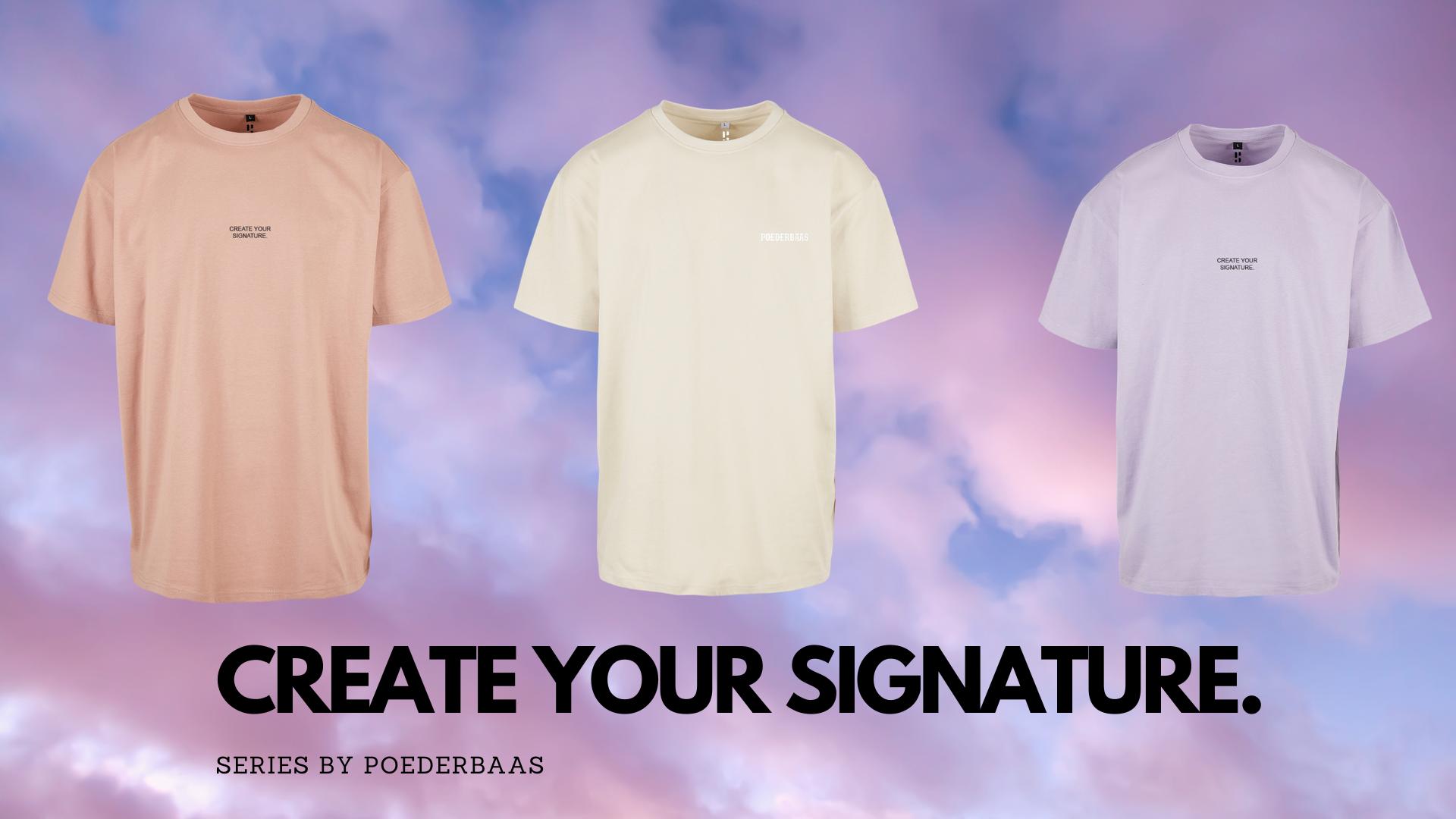 Oversized shirts, pastel tinten en premium stof.