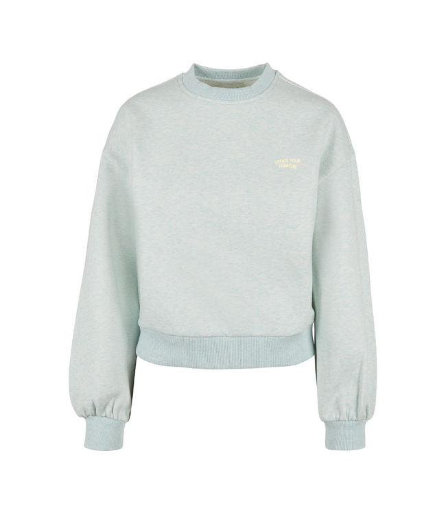 Create Your Signature Crop Top - Light turquoise