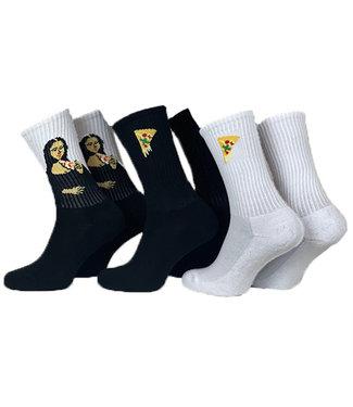 Pizza Socks - 3 pack
