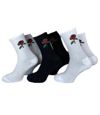 Rose Socks - 3 pack
