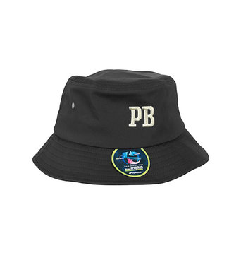 Black PB Bucket Hat Embroidered
