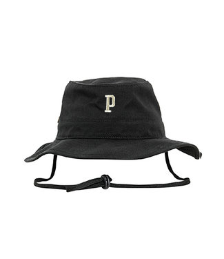 Black Poederbaas Bucket Hat Embroidered