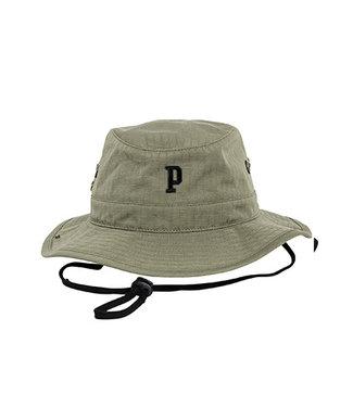 Green Poederbaas Bucket Hat Embroidered