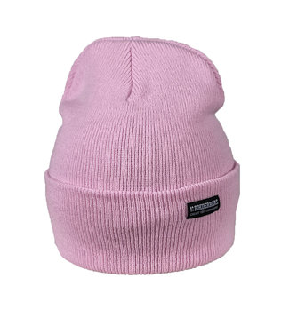 Frosted Pink beanie - Baby Pink