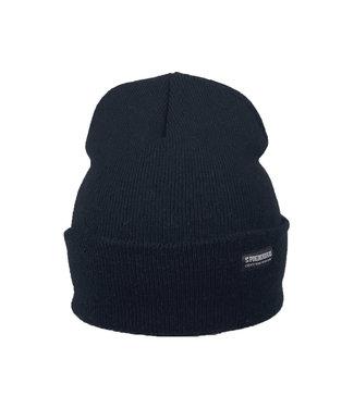 Marineblau beanie - Dunkelblau