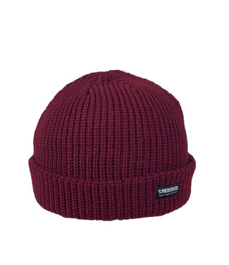 The Red Fisherman beanie- Burgandy Red