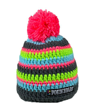 Colorful hat from Poederbaas