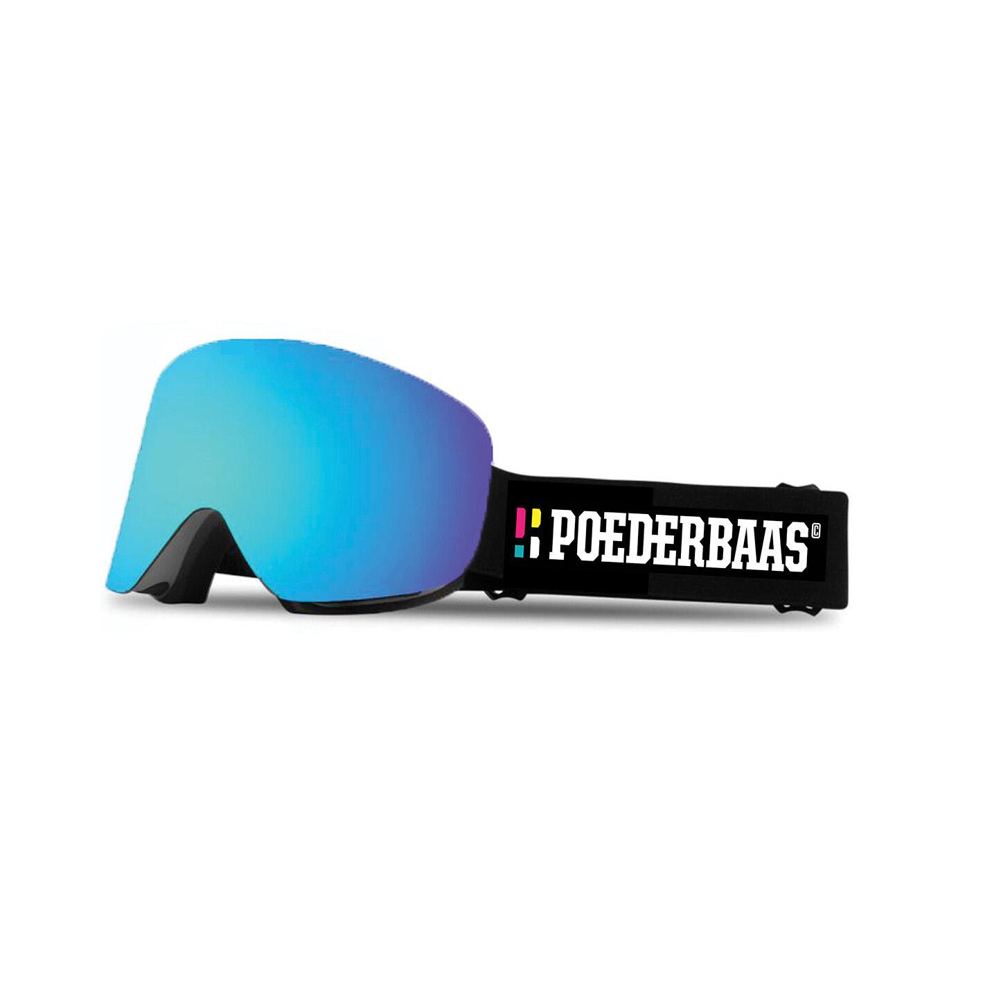Een skibril die geschikt is voor zonnig weer