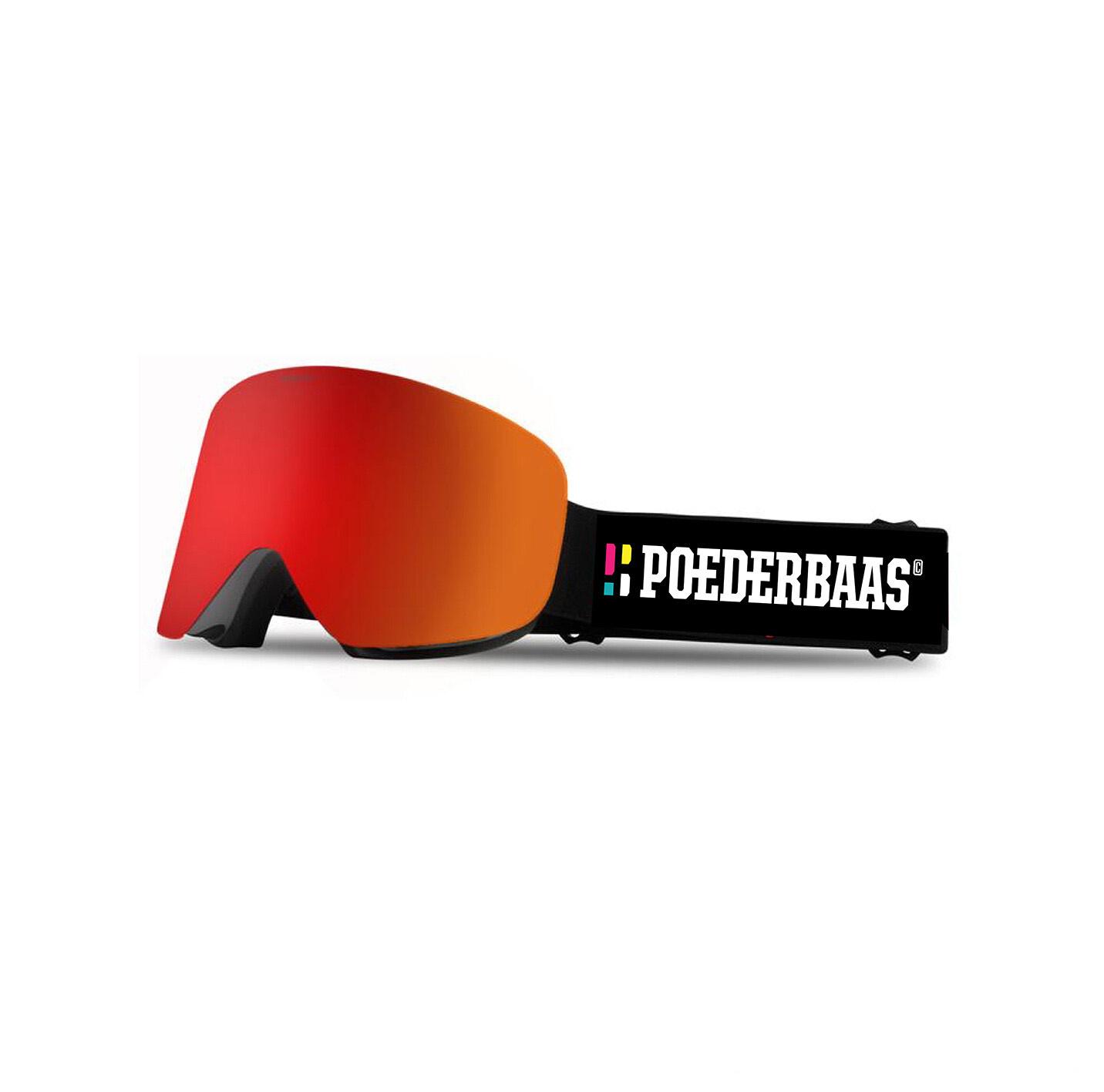 Een skibril die geschikt is voor slecht zicht weer