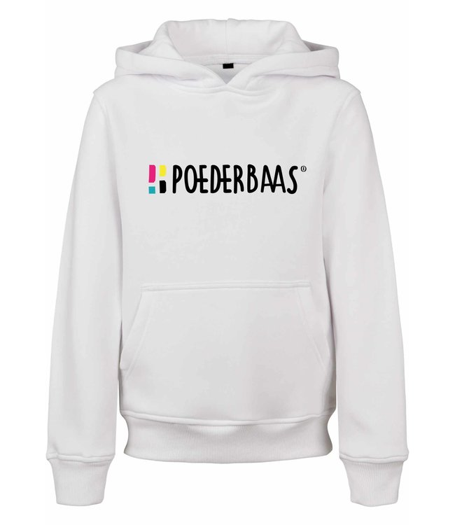 Weiß Hoodie für Kinder von Poederbaas