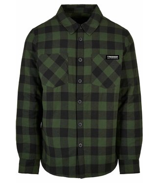 Padded Flanel Shirt Black Forest