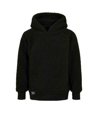 Black hoodie for kids from Poederbaas