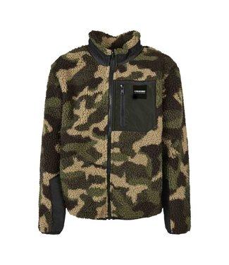 Sherpa Jacket for kids from Poederbaas - Camo
