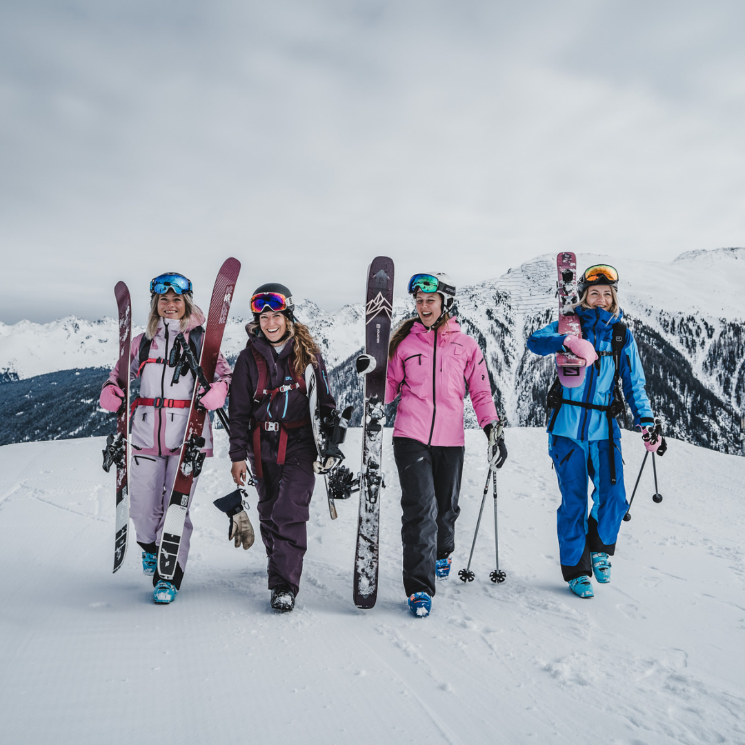Wo können wir bald Ski fahren?