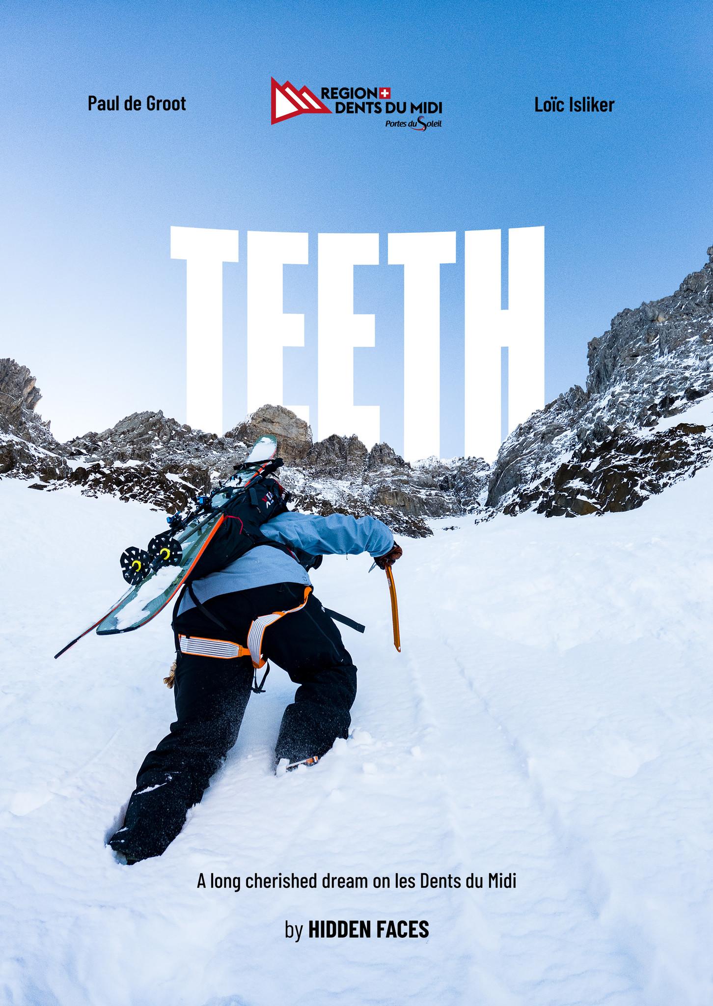 Première TEETH, korte skifilm van de mannen achter Hidden Faces.