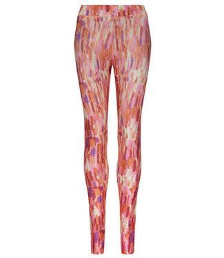 Pinky Sports Leggings für Damen mit Multicolor-Print und High-Waist-Passform