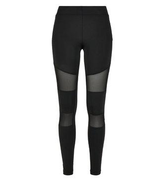 Black Tech Mesh legging