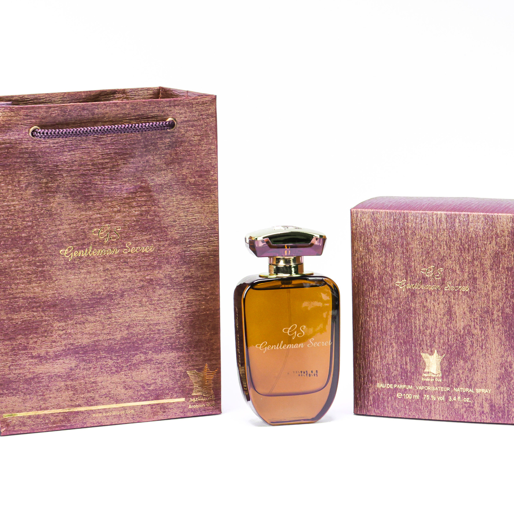 Arabian Oud Gentleman Secret (100ml Eau de Parfum)