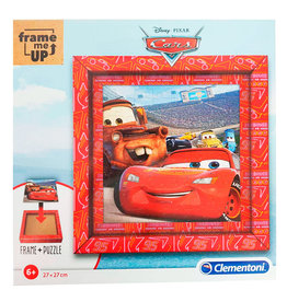 CLEMENTONI Cars Frame Me Up puzzel 60 stukjes