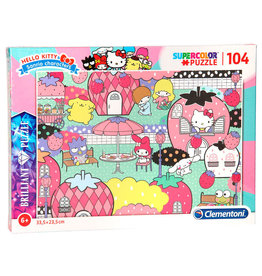 CLEMENTONI Hello Kitty puzzel 104pcs